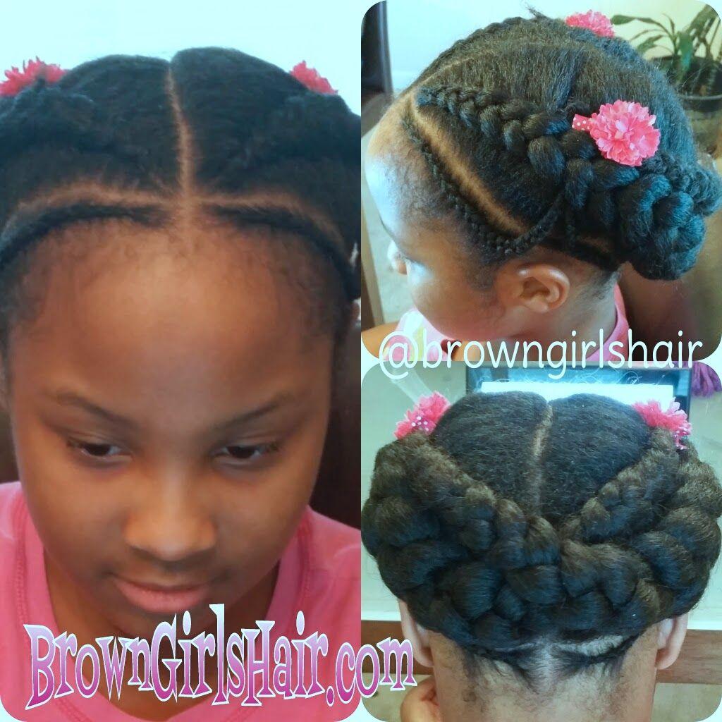 website  easy cornrow  hair styles   natural  girls   ponytails