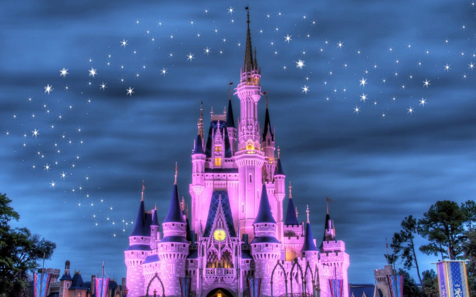 Disney Castle Backgrounds Latar Belakang Disney Voyage