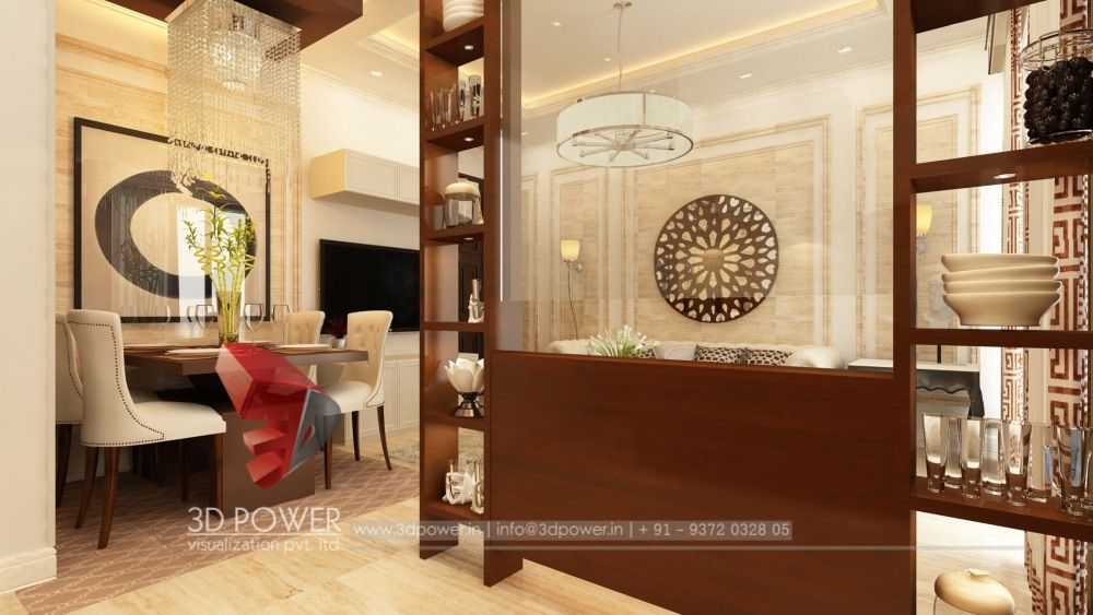 View Of Dining From Kitchen Interior Design Interior 3d