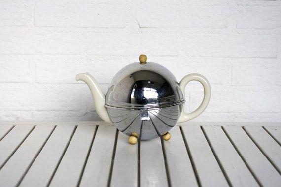 Rare Vintage German 1930s Ceramic Tea Pot By Circecollectables Ceramic Teapots Tea Pots Glass Teapot