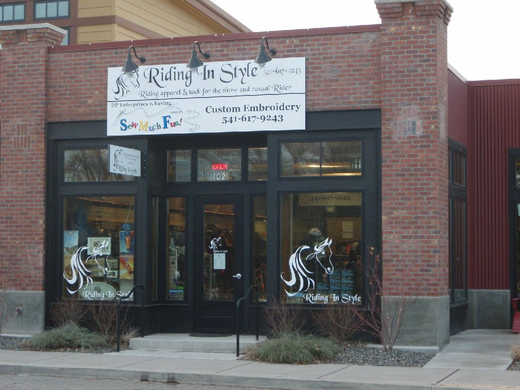 Riding in Style is a Boutique in Tumalo Oregon.