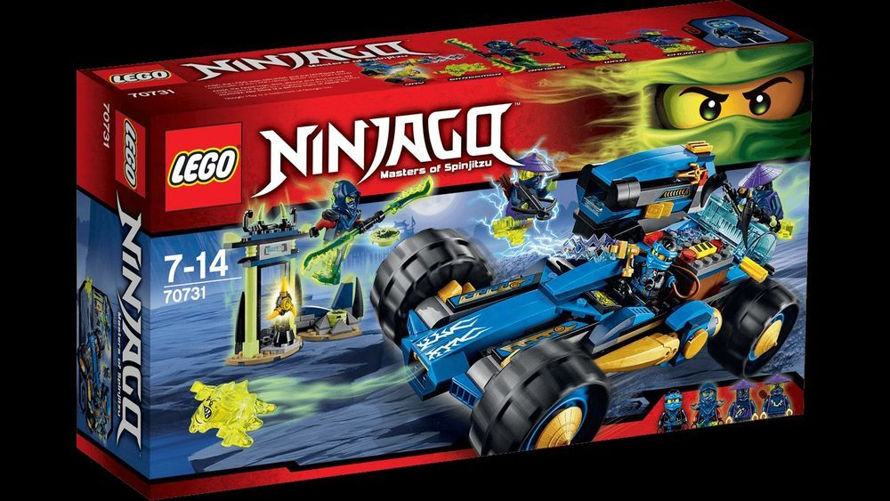 LEGO 70589 Ninjago Rock Roader 406 Pieces New Sealed Retired RARE