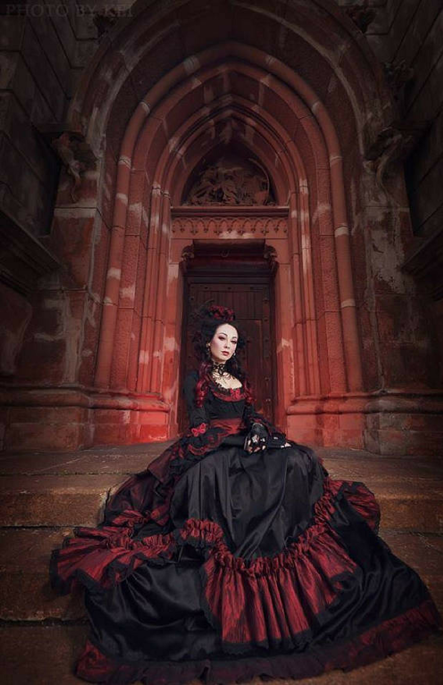 I love this gorgeous gothic wedding dress gothic clothing gothic