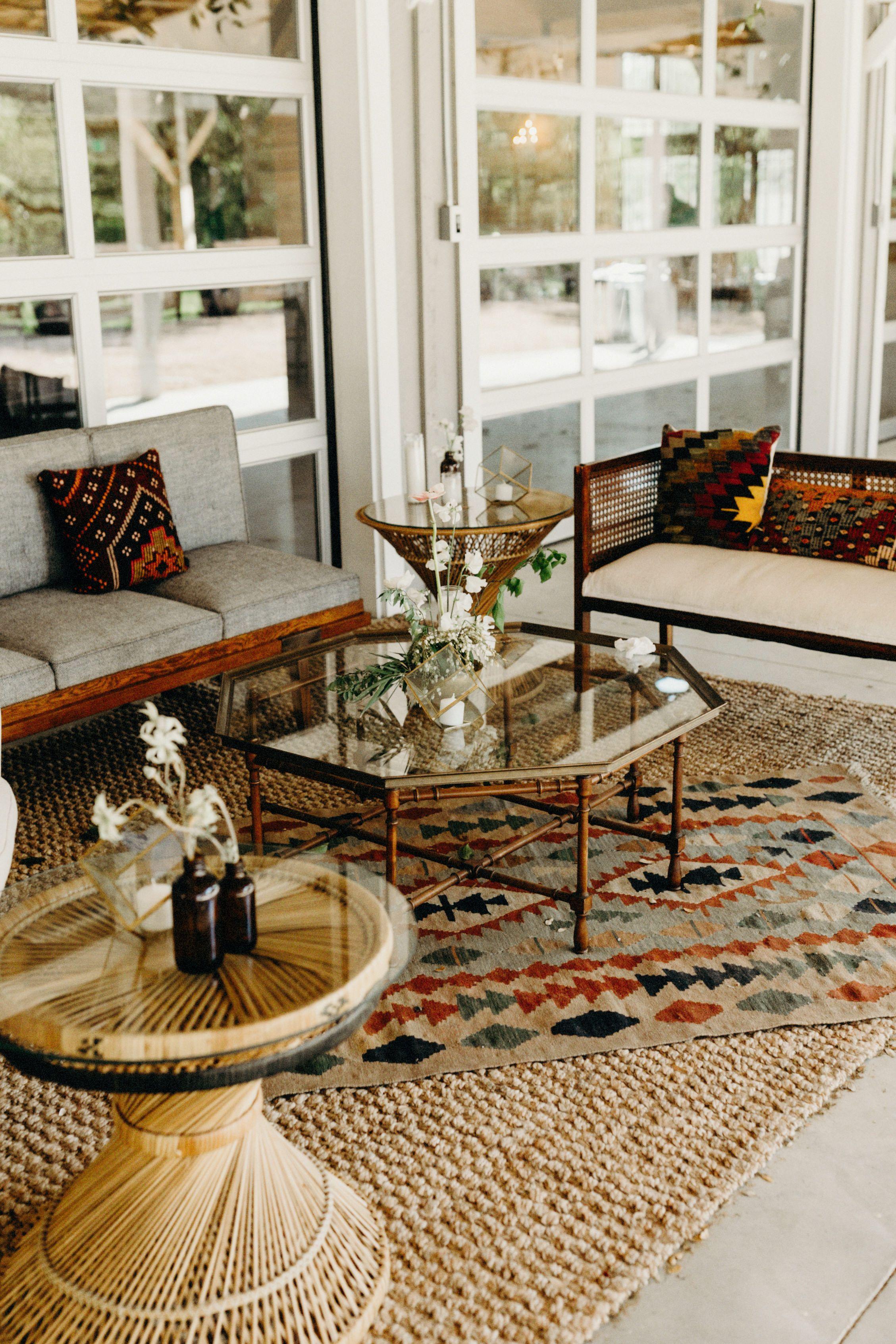 mid century modern furniture austin. Bohemian Chic Wedding Lounge   Mid Century Modern Furniture Masculine With Feminine Details Austin
