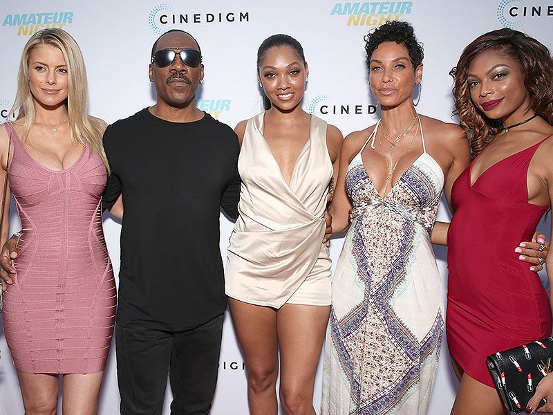 Eddie Murphy And Girlfriend Paige Butcher Join His Ex Wife Nicole