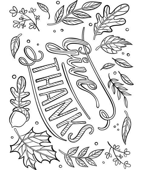 Give Thanks Placemat Coloring Page | crayola.com | Mom | Pinterest