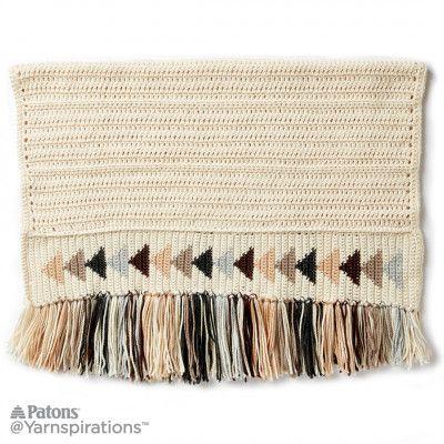 Free Easy Crochet Blanket Pattern | Knitting | Pinterest | Manta