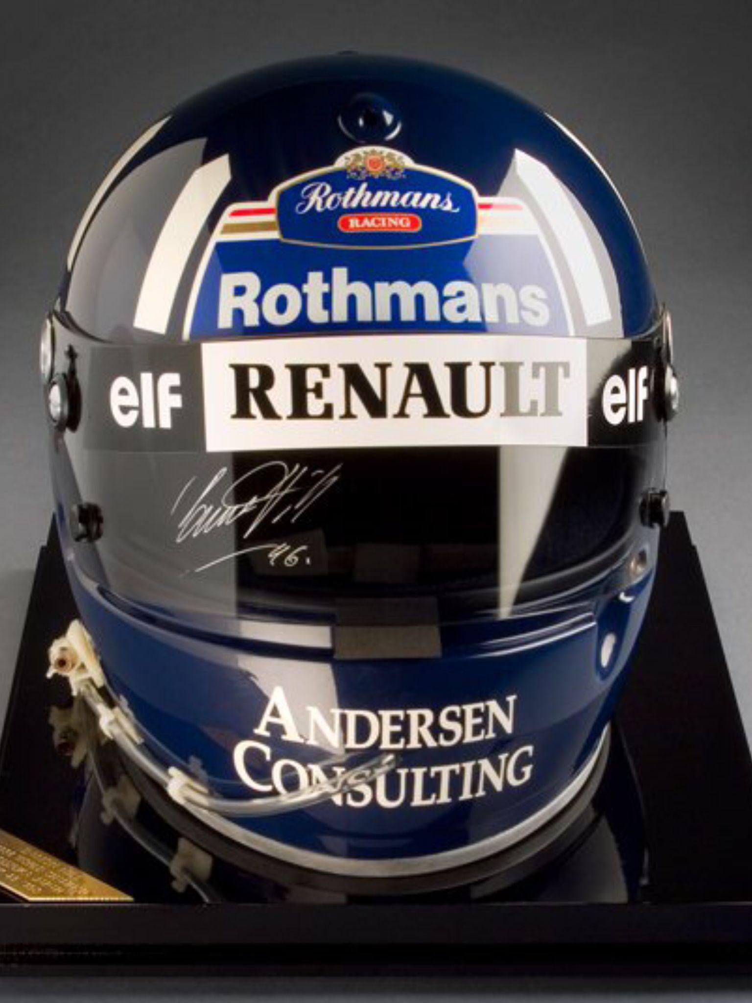 Damon hill the lids pinterest damon hill helmets for Damon racing