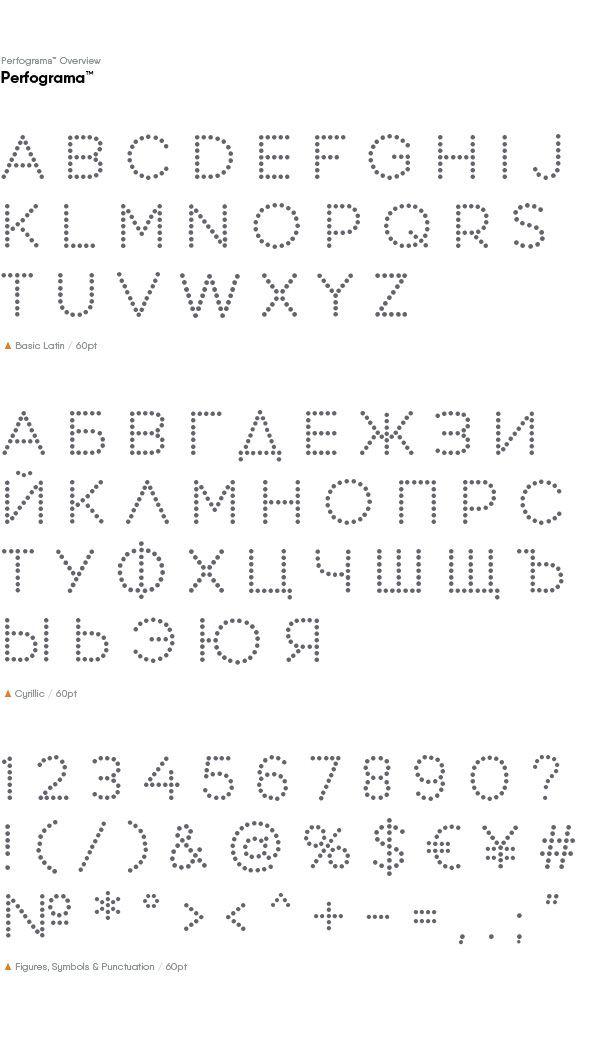 Perfograma free font on Behance