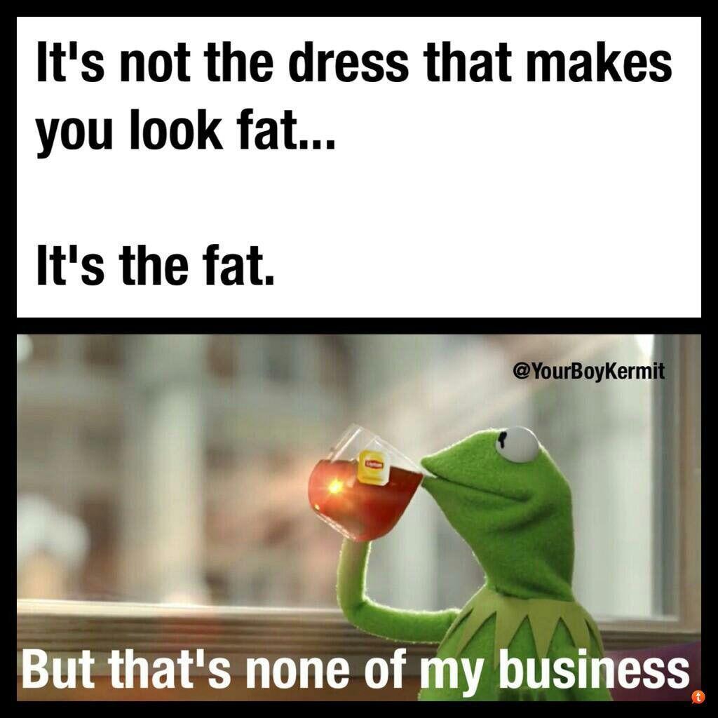 Kermit meme lez beee honest haha   Funny   Pinterest ... None Of Your Business Quotes Kermit