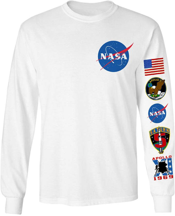 d95ced21 Changes Men's Long-Sleeve Nasa Graphic T-Shirt | J's Christmas list ...