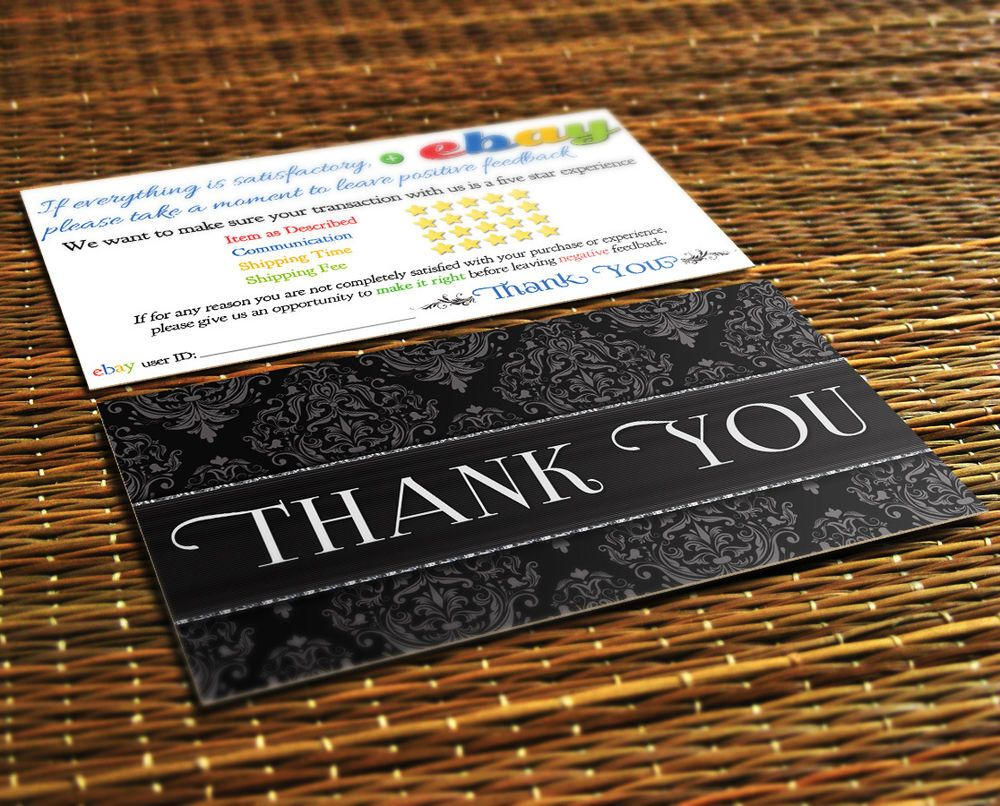 50 thank you ebay seller business cards 5 five star rating elegant 50 thank you ebay seller business cards 5 five star rating elegant professional in specialty services reheart Image collections