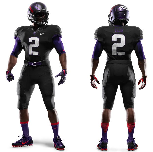 3b1258cb2 New TCU Football Uniform for Opening Day