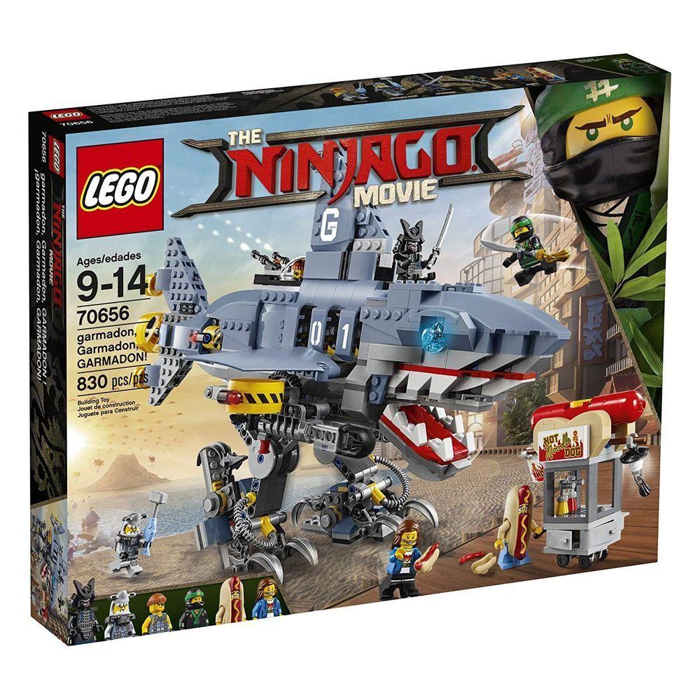 LEGO Ninjago Movie Destiny/'s Bounty 70618 2295 Piece Set Accessories