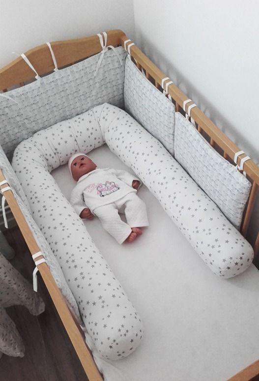 boudin cale bb rducteur de lit tour de lit toiles argentes paillettes - Reducteur De Lit Bebe