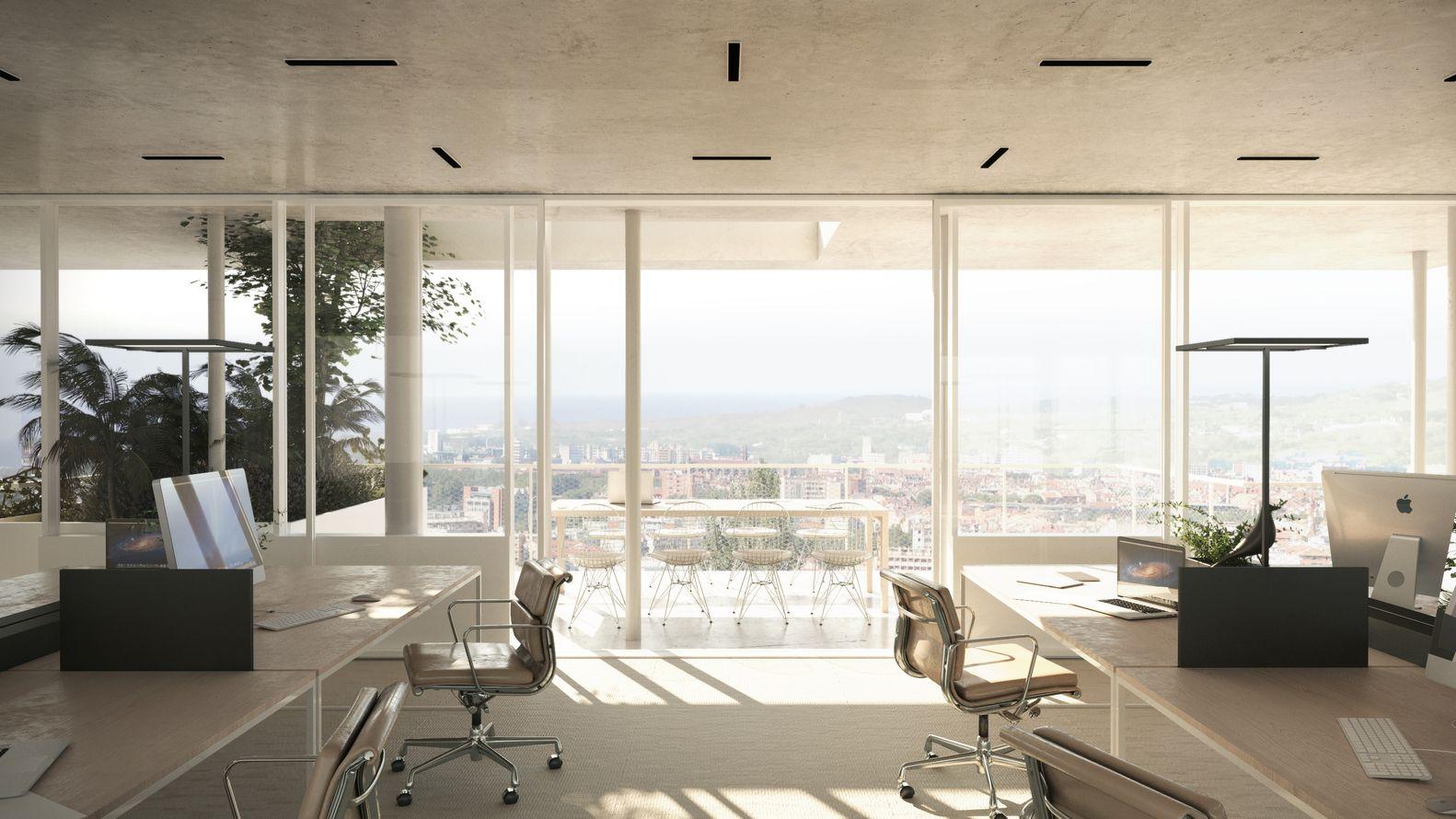 Galeria de NL*A divulga projeto de edifício corporativo ecológico na França - 4