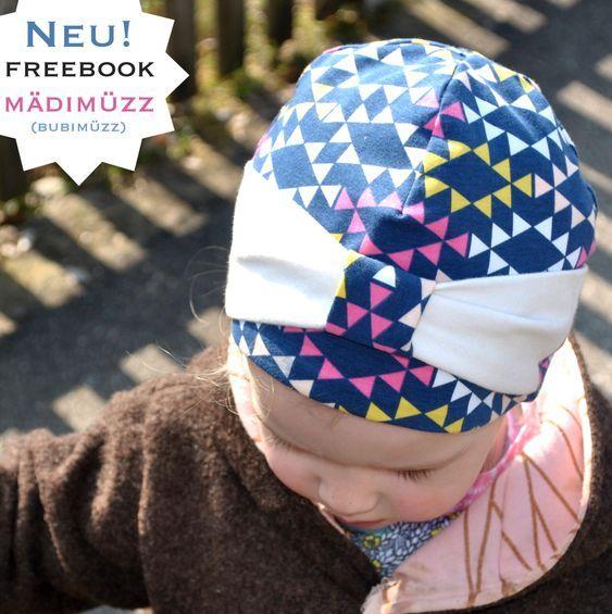 Mädimüzz / Bubimüzz - Freebook Mütze für den Frühling #bonnets