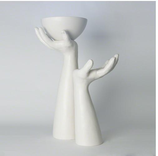 Palama hands and bowl