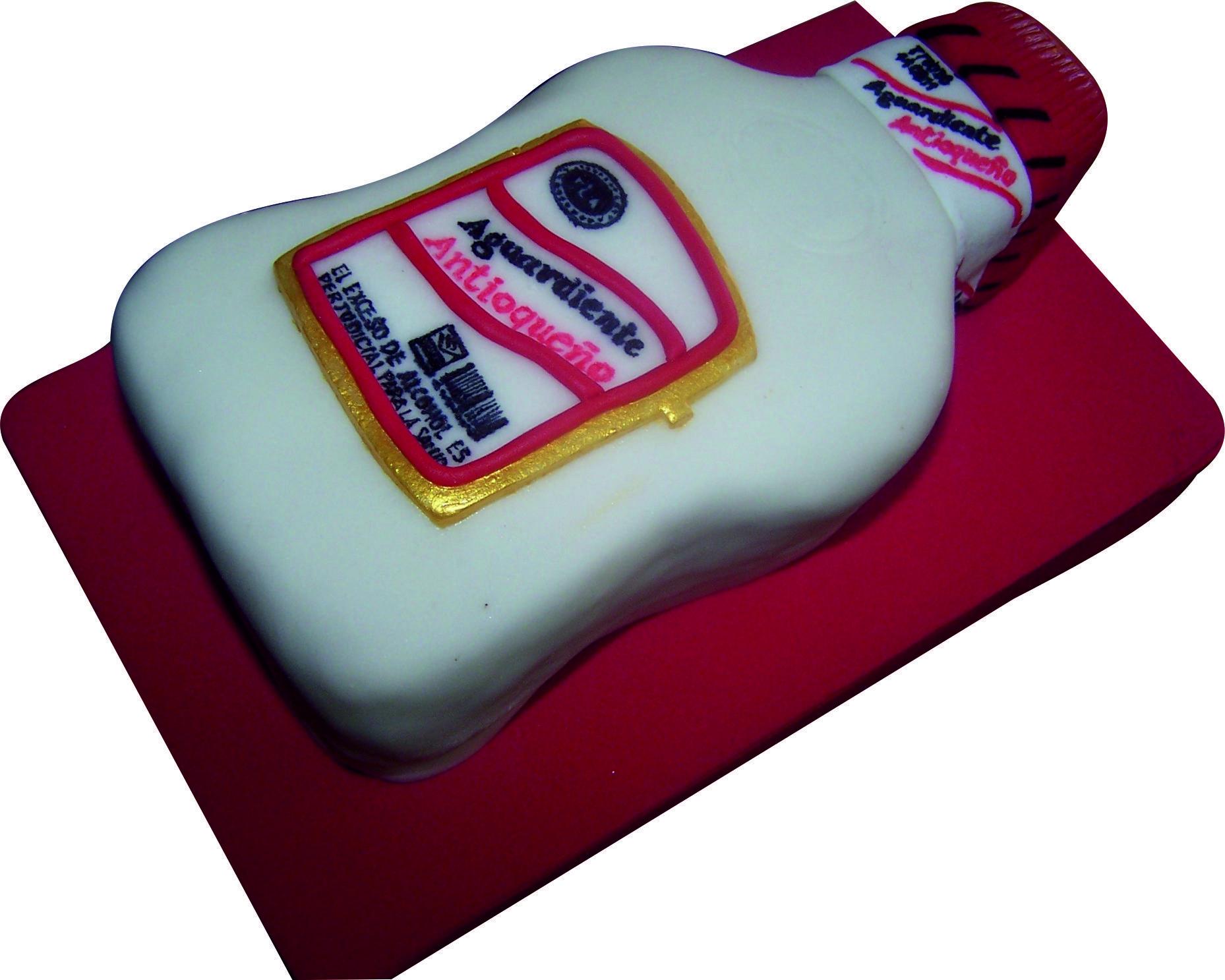 Botella Aguardiente Cake