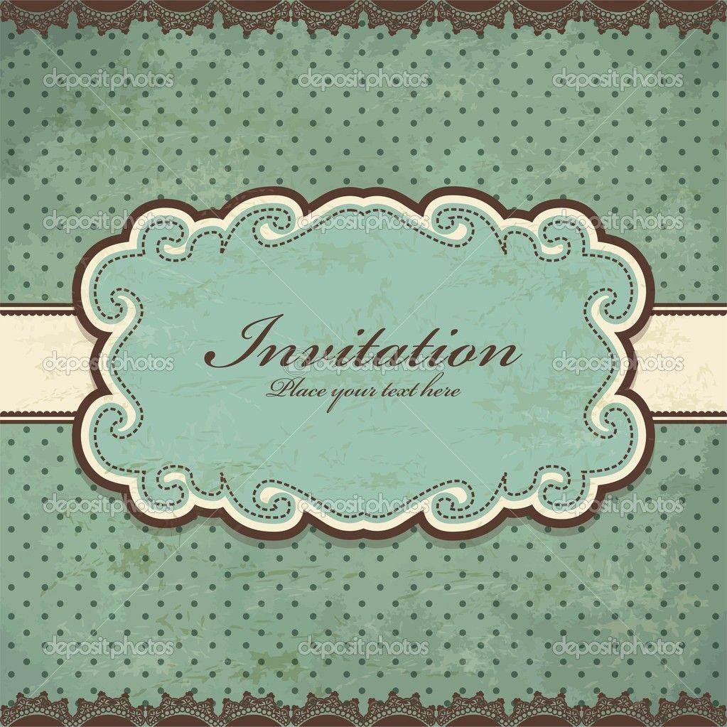 Diseño de plantilla marco antiguo Vintage — Ilustración de stock ...