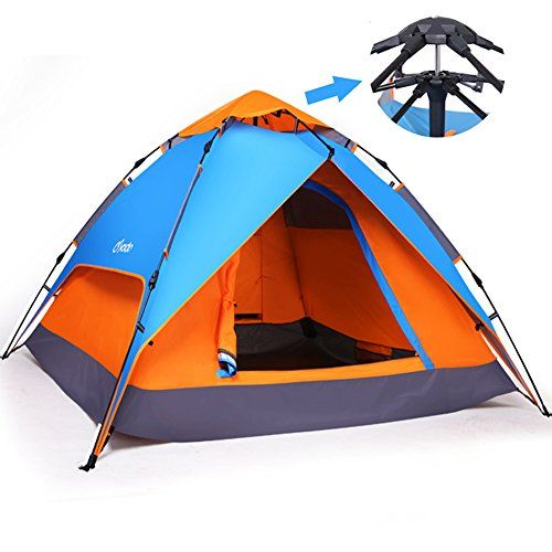 Yodo Easy Up Instant Tent for Family C&ing Blue/ Orang...   sc 1 st  Pinterest & Yodo Easy Up Instant Tent for Family Camping Blue/ Orang... https ...
