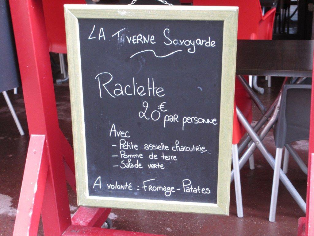 Raclette - like a fondue