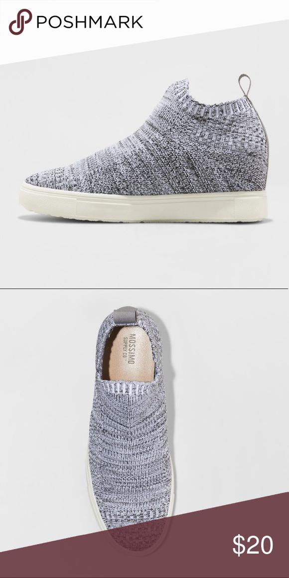 Shyla Knit Sock Top High Top Sneakers