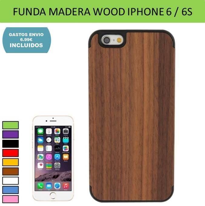 fundas iphone de madera