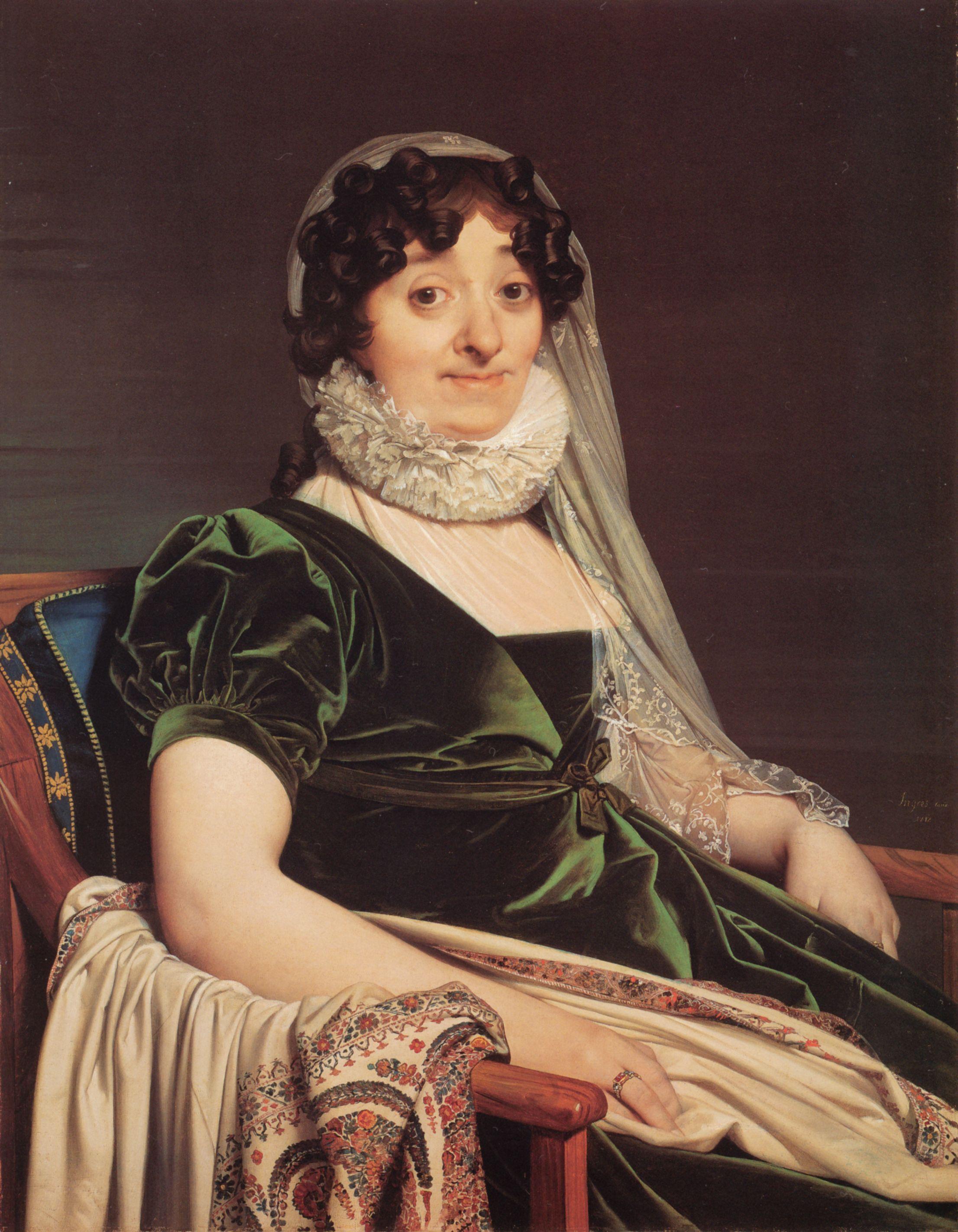 Comtesse De Tournon Nee Genevieve De Seytres Caumont Jean