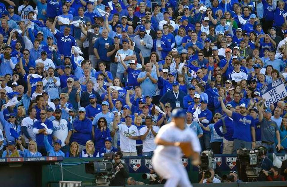 Photo gallery ALCS game four, Royals vs. Orioles, opening