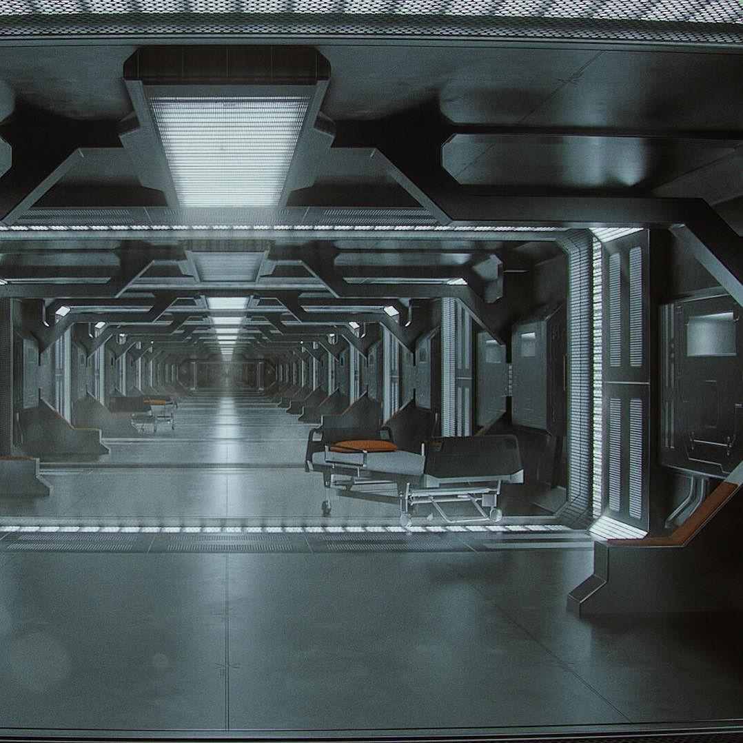 Clone retention.  #c4d #29daysofscifi #3d #scifi #render by jeffbriant
