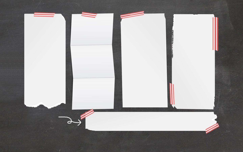 Chalkboard Computer Desktop Wallpaper Organizer  Boards