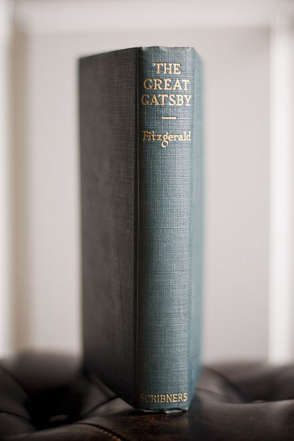 The Great Gatsby | by F. Scott Fitzgerald, first published 1925 by Scribners.