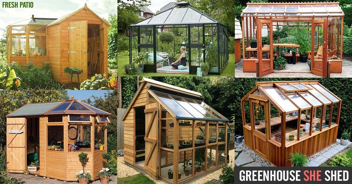 Greenhouse She Shed Diy Kit Ideas Shedplans Top Shed Ideas