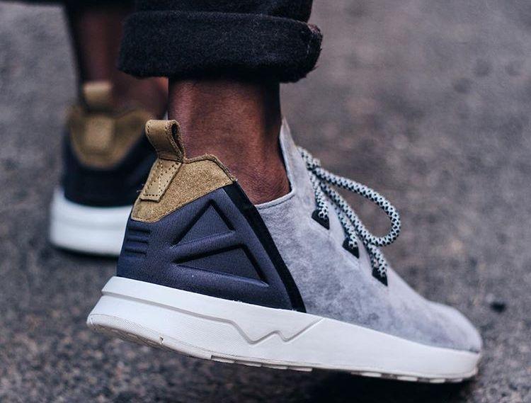 adidas zx flux gris et blanc
