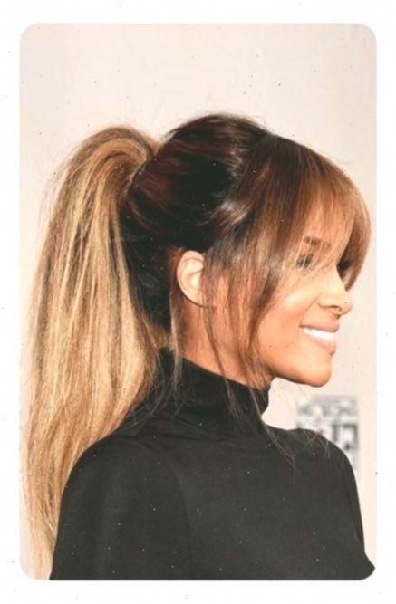 Pretty high ponytail