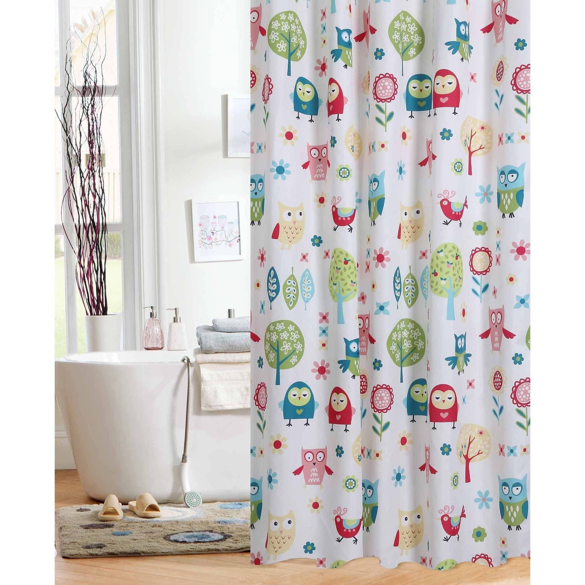 Elegant 74 Long Shower Curtain RusticCurtains