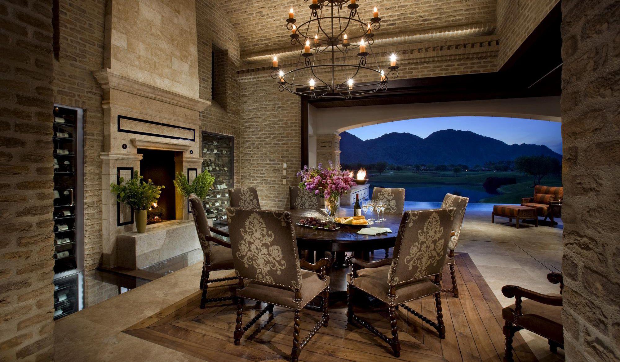 Eldorado Stone  Imagine  Designer's Portfolios  The Estancia Brilliant Eldorado Dining Room Design Inspiration