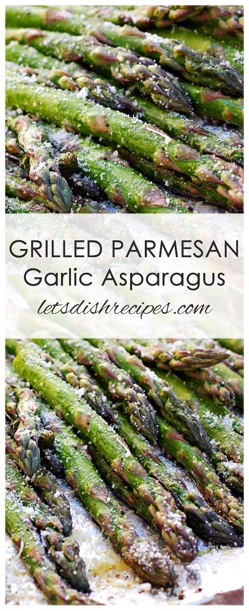Grilled Parmesan Asparagus images