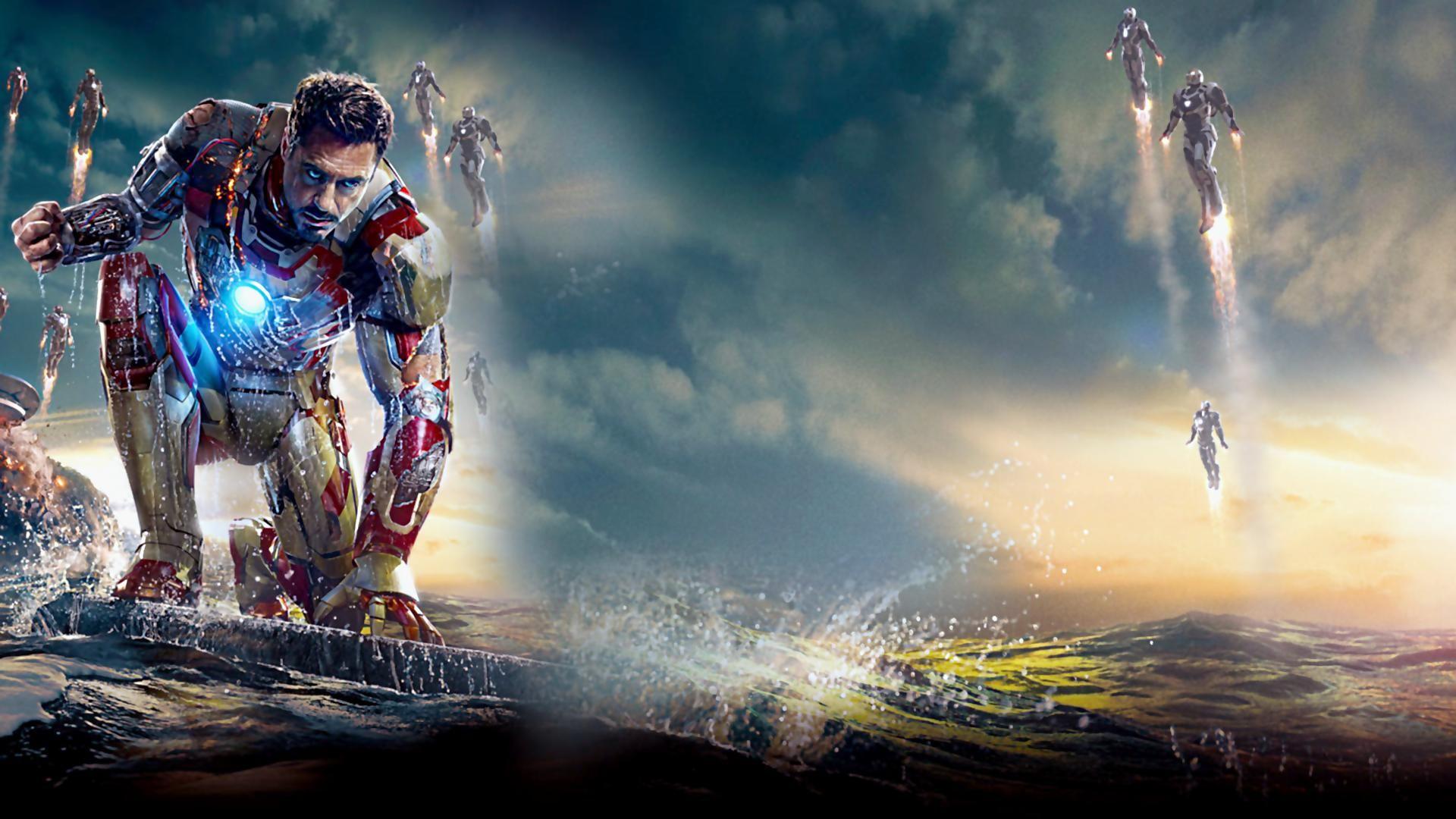 Iron Man Wallpaper 1920 1080 Tela Pc Wallpaper Vingadores