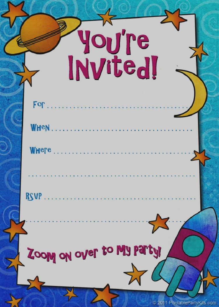 Green Birthday Invitation Card Written In Afrikaans Kids