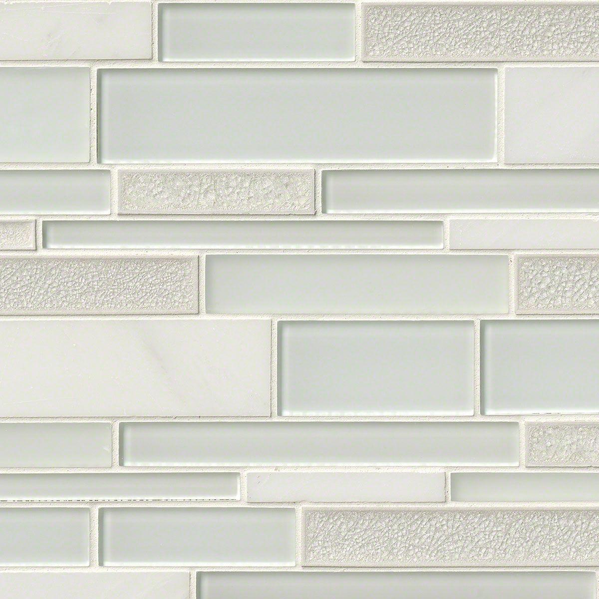 Fantasia blanco interlocking pattern 12x18x8 mm glass and stone fantasia blanco interlocking pattern 12x18x8 mm glass and stone mosaic backsplash tile dailygadgetfo Gallery