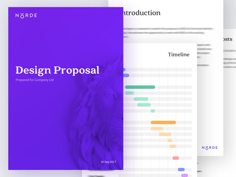 Norde Design Proposal  Proposals