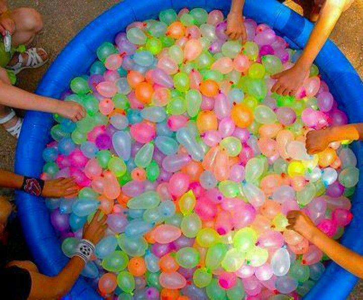 water balloon fight ideas