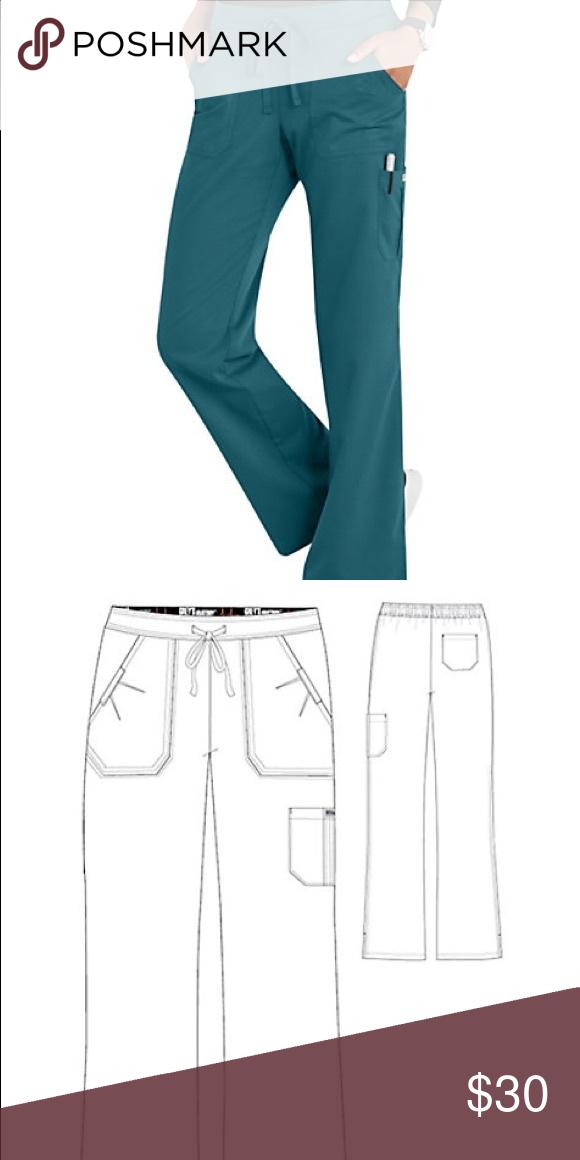 💊 Grey\'s Anatomy 4 Pocket Cargo Scrub Pants 💊   Scrub pants ...