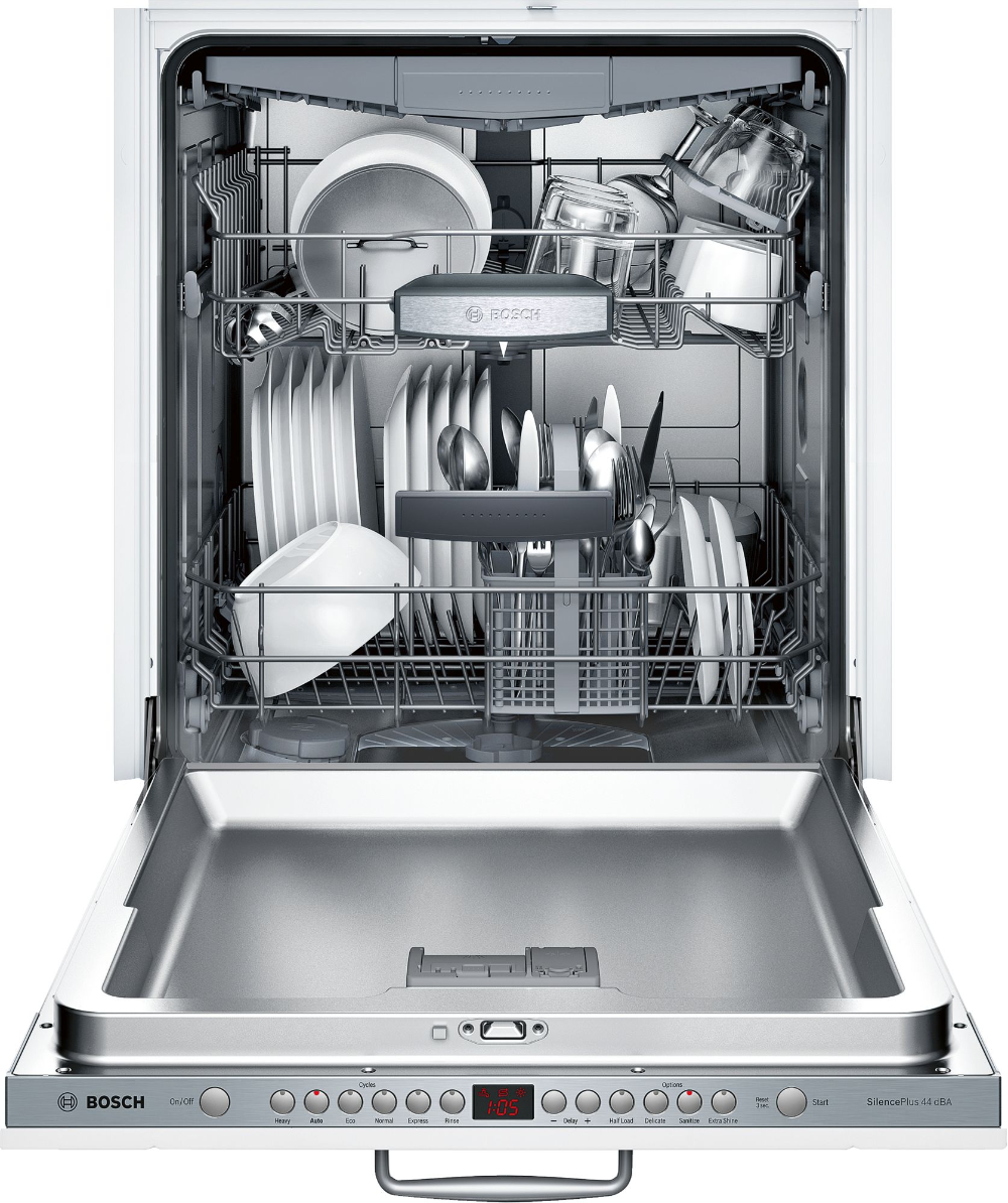 Bosch Sgv68u53uc Dishwasher Steel Tub Built In Dishwasher Top Control Dishwasher