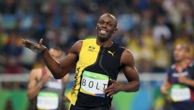 Usain Bolt wins Olympic gold in men's 100m final   Usain ...