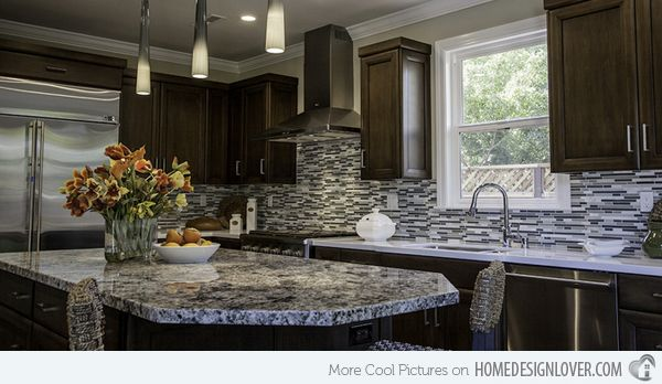 15 different granite kitchen countertops