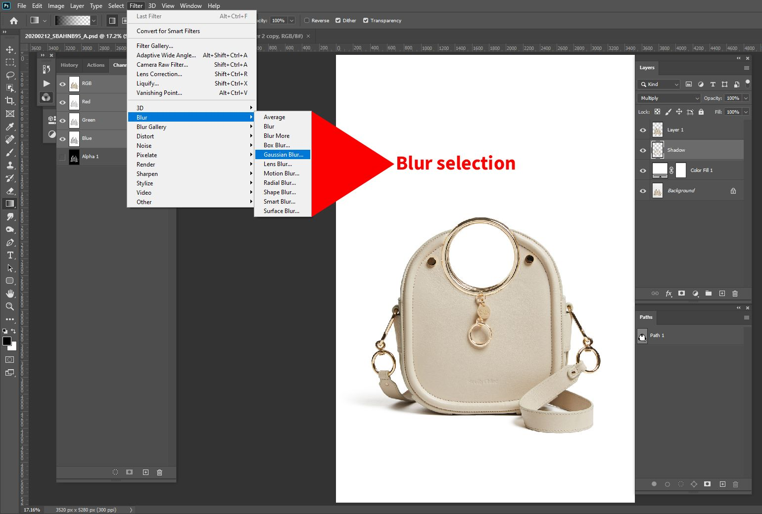 How to Add Shadow in in 2020 Clipping mask