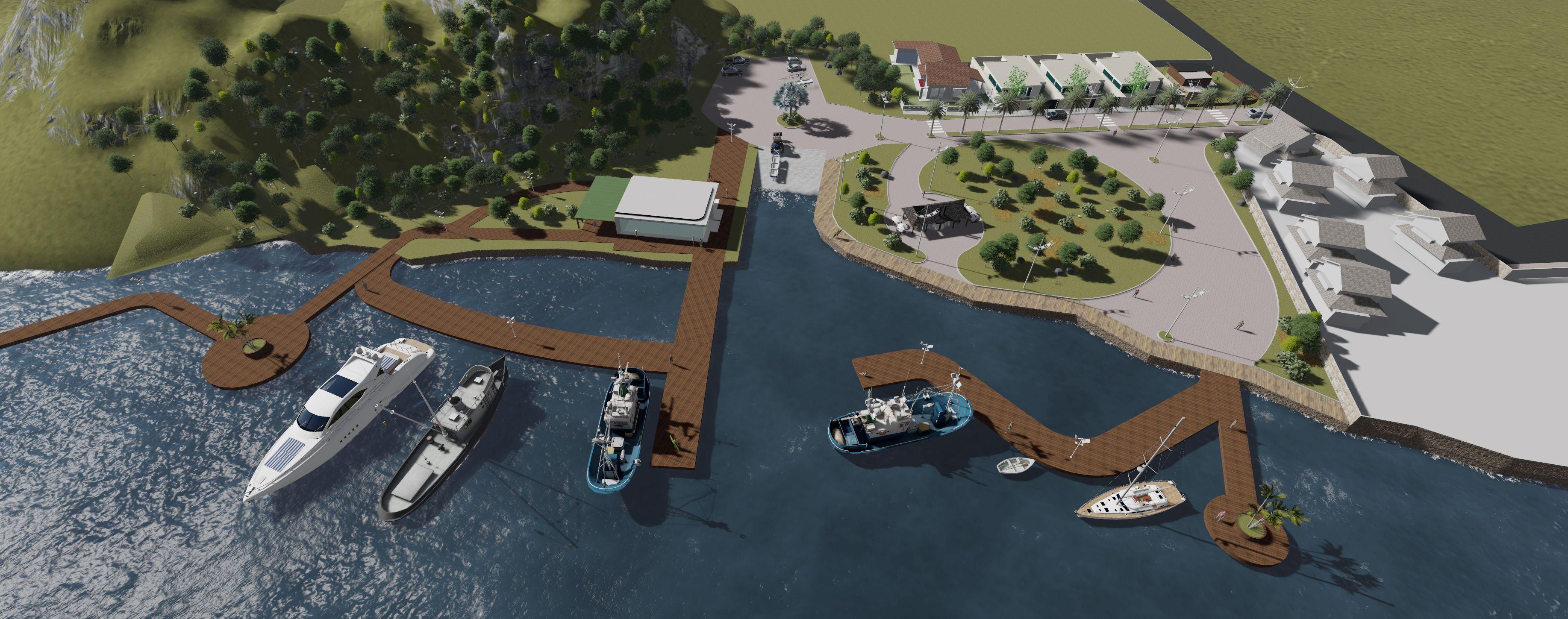 Projeto de revitalização porto da barra- implantação